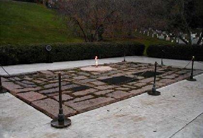 JFK Grave at Arlington National Cemetary
