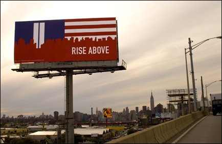 Rise Above Billboard on the L.I Expressway September, 2011.