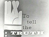 To Tell The Truth Logo 1956-1968