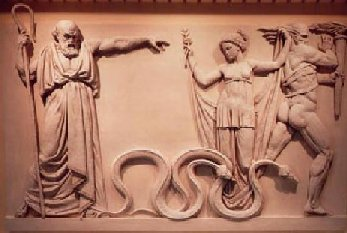 St. Patrick Expelling the Snakes